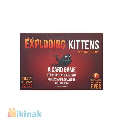 بازی فکری گربه های انفجاری