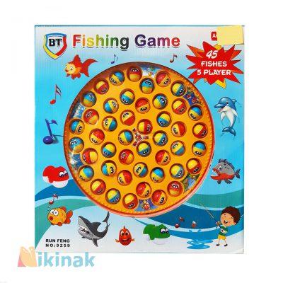 اسباب بازی آموزش ماهیگیری 5 نفره