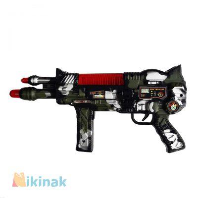 تفنگ اسباب بازی مسلسل موزیکال مدل کماندو