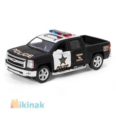 ماکت ماشین فلزی 2014 chevrolet silverado )police)