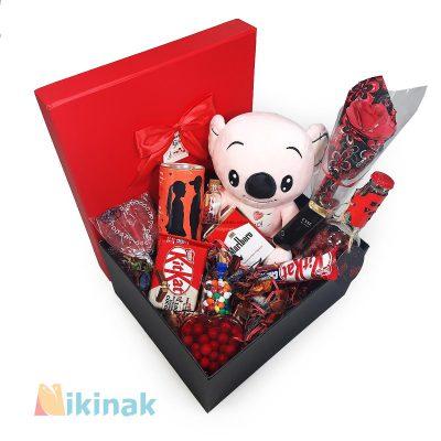 باکس کادوی ولنتاین همراه با عروسک کوالا