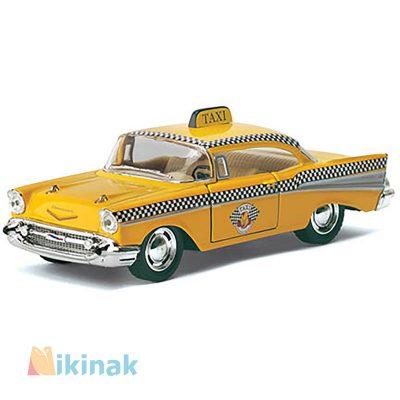 ماکت ماشین فلزی 1957 Chevrolet Bel Air ) Taxi)