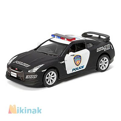 ماکت ماشین فلزی 2009 Nissan GT-R R35 ) Police)