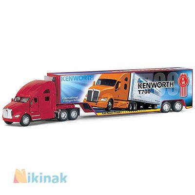 ماکت ماشین فلزی Kenworth T700 w container