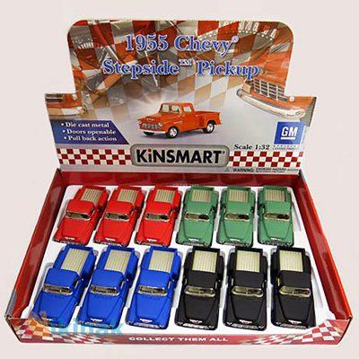 ماکت ماشین فلزی 1955 Chevy Stepside Pick-up ) Matte Color)