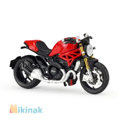 ماکت موتور فلزی مدل Ducati monster 1200