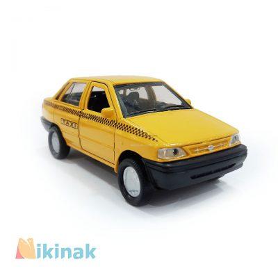 ماکت فلزی پراید تاکسی
