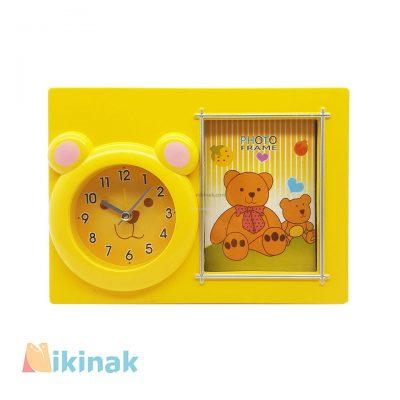 ساعت رومیزی طرح خرس