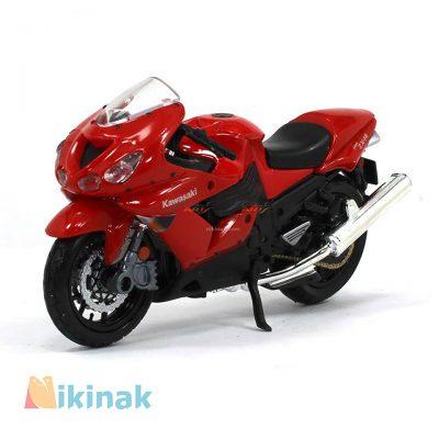 ماکت موتور فلزی مدل Kawasaki Ninja ZX-14R