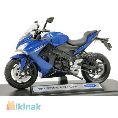 ماکت موتور فلزی مدل GSX-S1000F