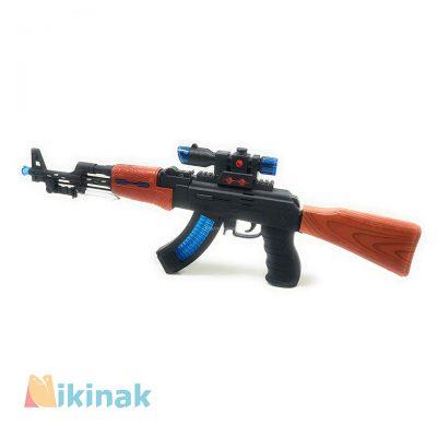 تفنگ شارژی اسباب بازی مدل AK47