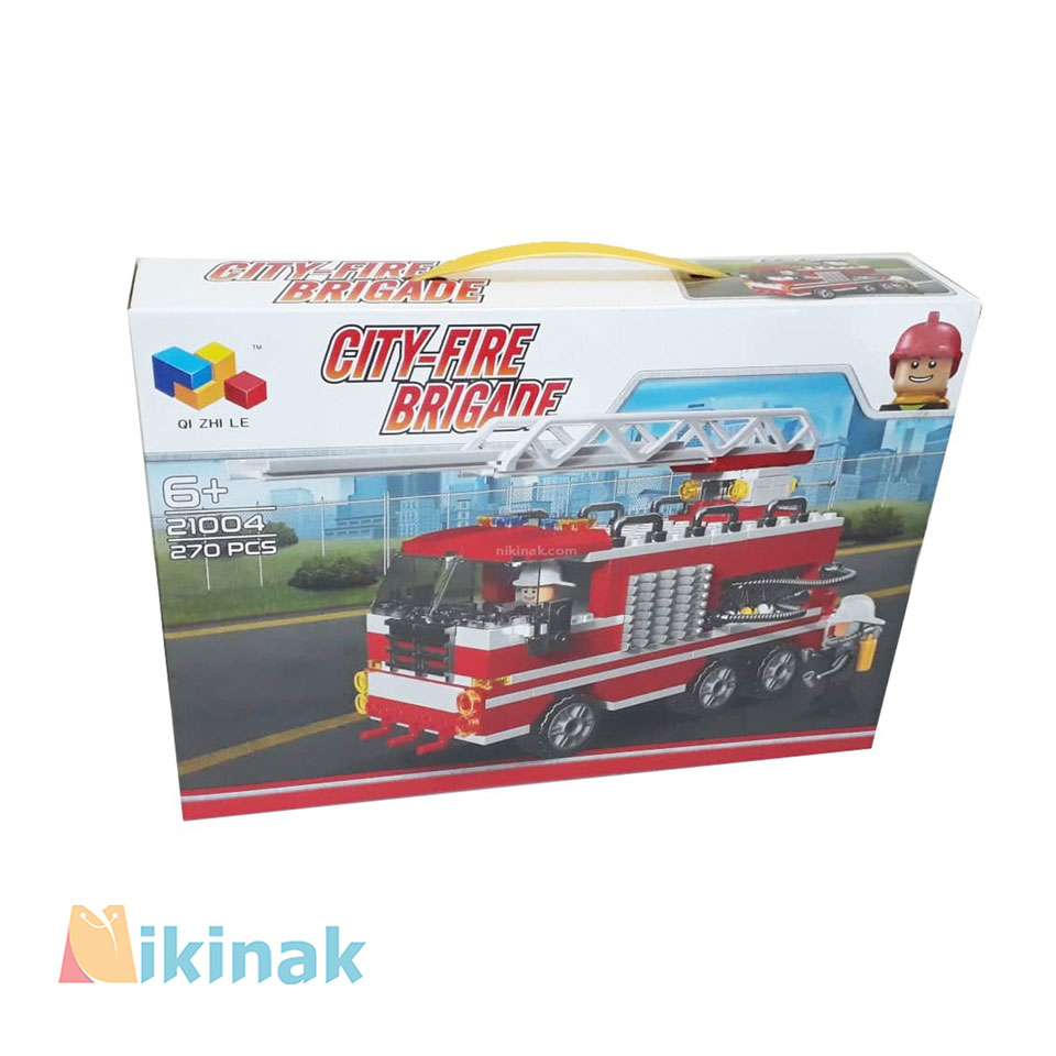 لگو ماشین آتش نشانی مدل 21004